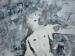 Peinture de la crucifixion de Pierre